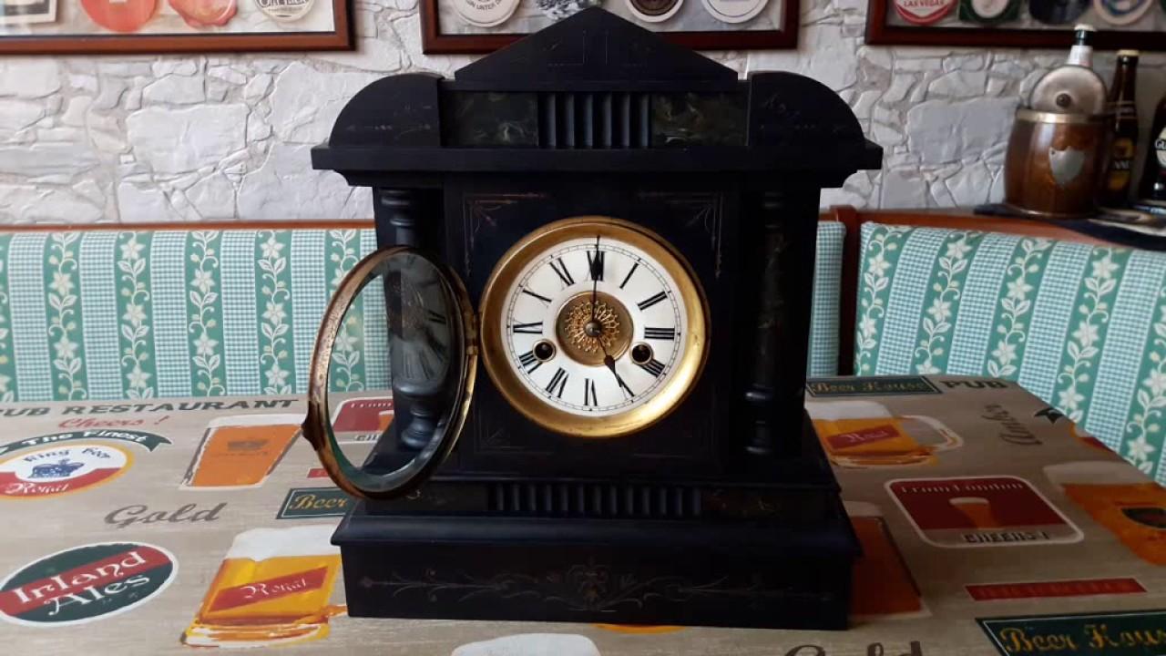 Orologio pendolo da muro antichi di gustav becker antico orologio pendolo da parete meccanico - Orologi antichi da tavolo ...