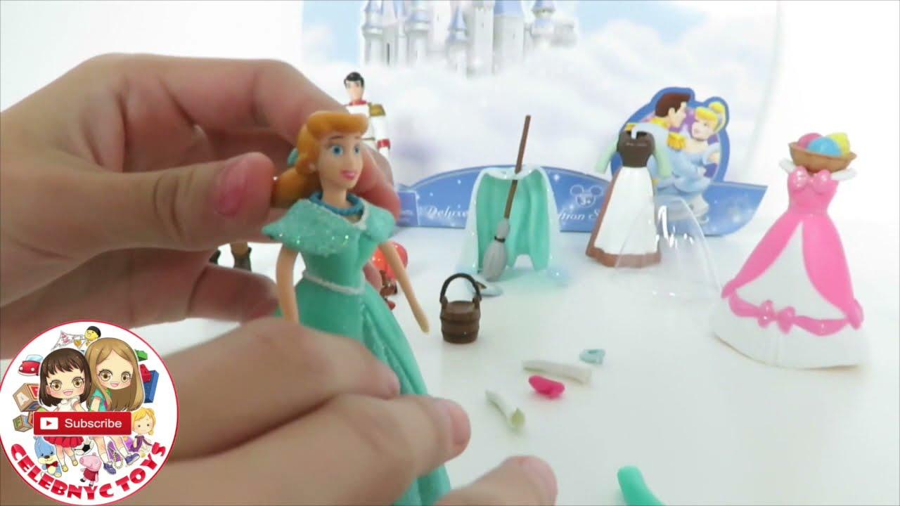 7 POLLY POCKET Disney Princess Fashion Sets   Cinderella ...