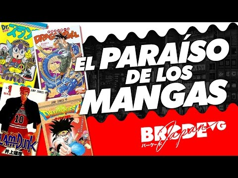 El PARAÍSO de los mangas - BarcadeVG JAPAN