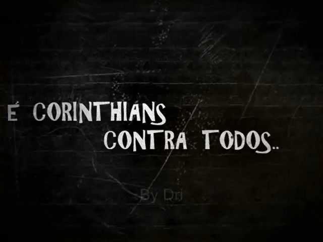 Corinthians contra a história e contra todos!  d074552b297ac