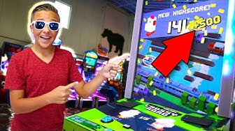 Best Arcade Strategies for WINNING THE BIGGEST JACKPOT at The Arcade!!
