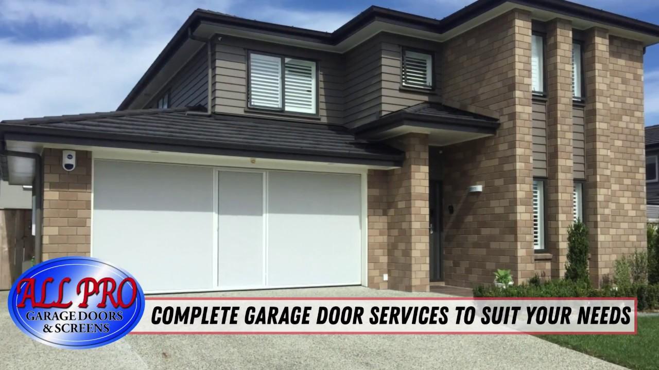 All Pro Garage Doors Screens Screen Enclosures Youtube