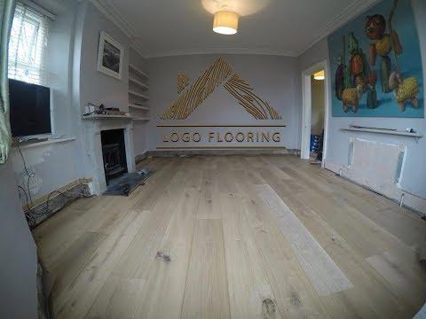 Wooden Floor Installation - Glue down by  LOGO Flooring