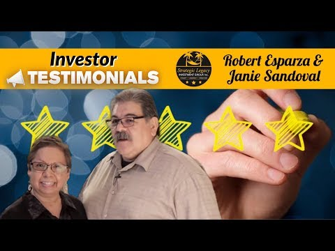 Strategic Legacy Investment Group-Investor Testimonial Robert and Janie