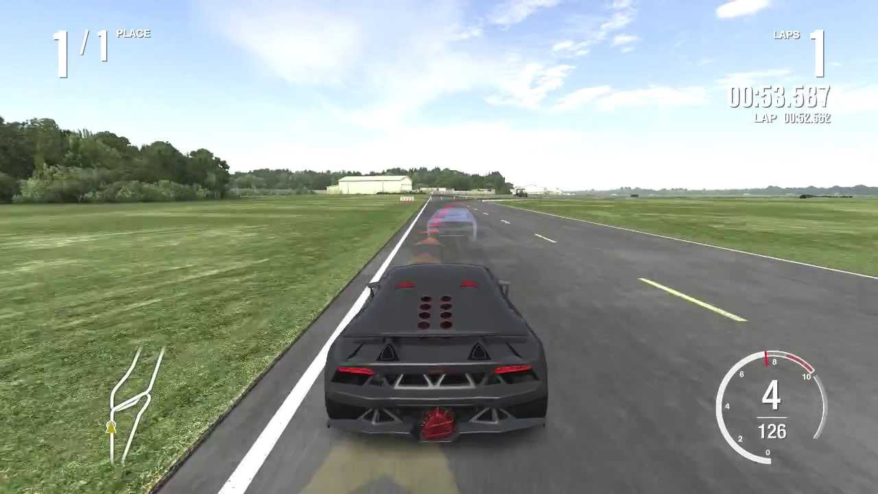 Forza Motorsport 4 Top Gear Power Lap Lamborghini Sesto