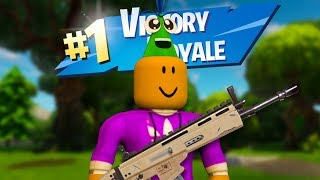 WE PLAY FORTNITE IN ROBLOX!