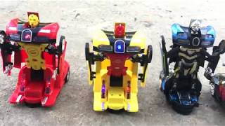 Best Interactive Transformer RC Remote Control Robot