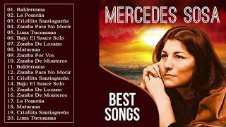 Mercedes Sosa Sus Mejores Exitos - Mercedes Sosa 30 Grandes Éxitos