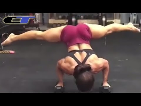 ASTOUNDING FEMALE FITNESS PERFORMANCES 2018