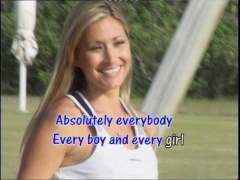 Absolutely Everybody - Vanessa Amorosi Karaoke