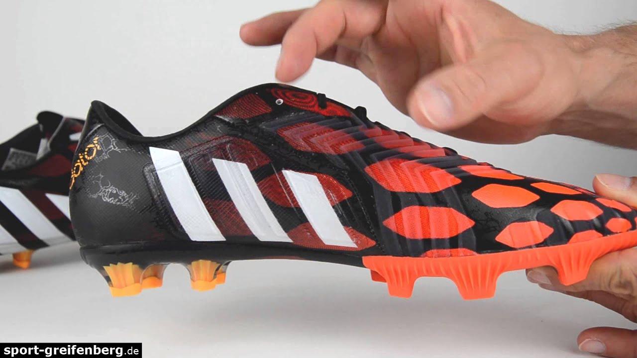 Adidas Predator instinto FG Infrared YouTube
