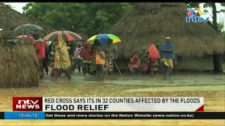 Red Cross says 32 counties affected by floods