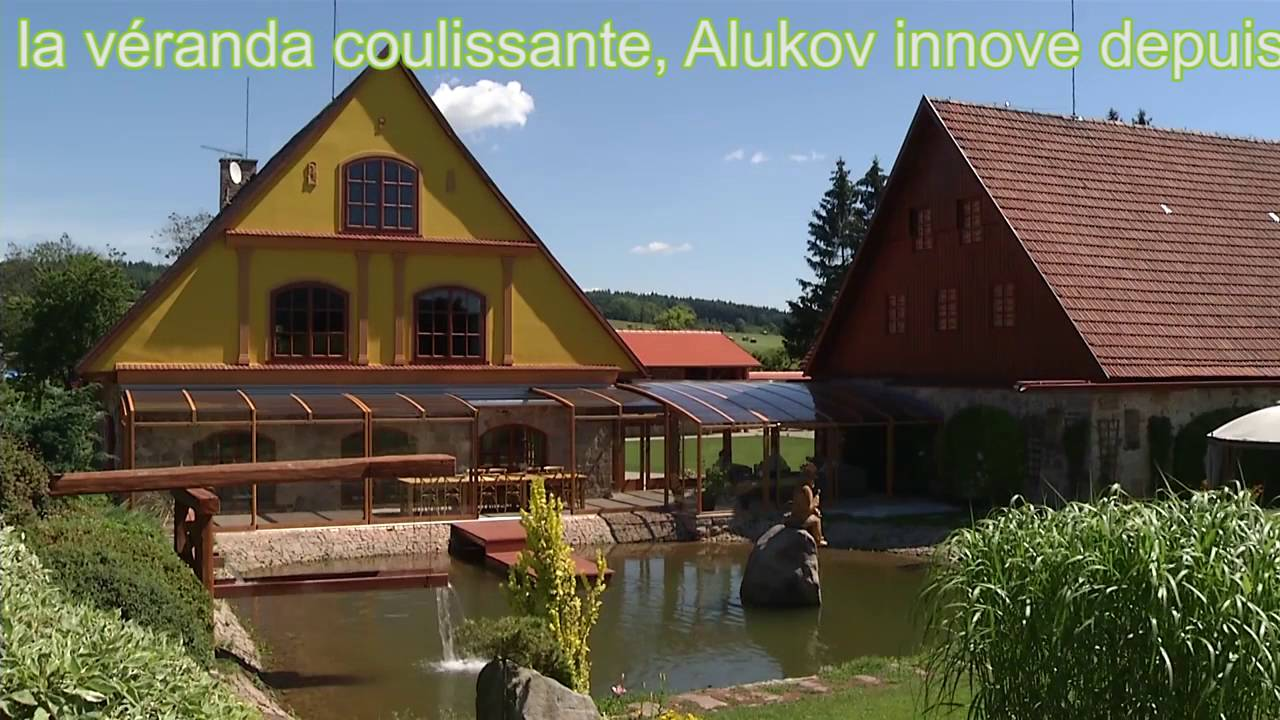 Alukov veranda l 39 abri de terrasse r tractable youtube - Abri de terrasse retractable ...