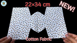 New Pattern Face Mask Sewing Tutorial DIY Breathable Face Mask Sewing Tutorial Máscara 3D