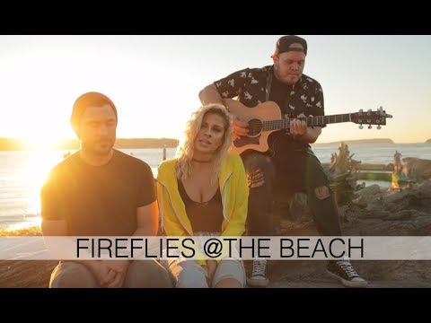 Owl City - Fireflies AT THE BEACH (Andie Case Cover)