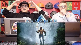 Aquaman Extended Trailer REACTION!