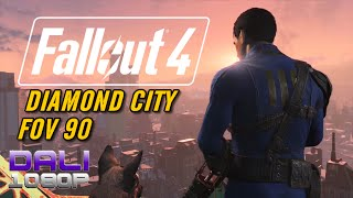Fallout 4 Diamond City FOV 90 PC Gameplay 60fps 1080p