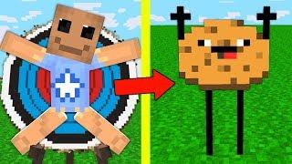 Антистресс БАДИ против ПЕЧЕНЬЕ МУТАНТ в Майнкрафт! Нуб и про Выживание Троллинг Испытания Minecraft