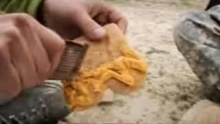Meeting and eating food rations with US troops in Afghanistan - world food -BBC