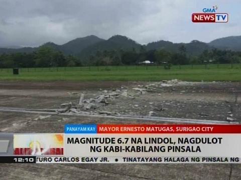 BT: Panayam kay Surigao City Mayor Ernesto Matugas