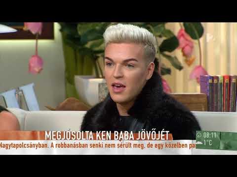 Hihetetlen: ezt jósolta Maria Geronazzo évekkel ezelőtt a magyar Ken babának - tv2.hu/mokka