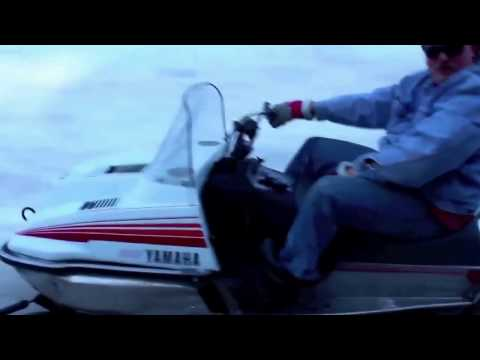This Denim-Clad Snowmobile Lunatic Is The One True King Of