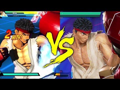 MVC3 vs MVCI - Ryu