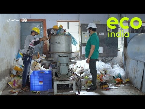Eco India: Could a fuel generated from plastic waste replace