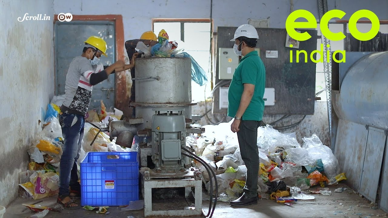 Eco India: Could a fuel generated from plastic waste replace fossil fuels and meet energy needs?