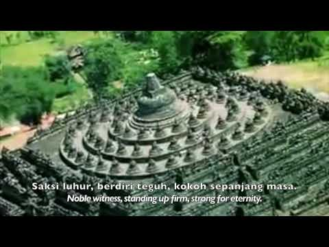 Gending Sriwijaya (Indonesian original lyrics with English translation)