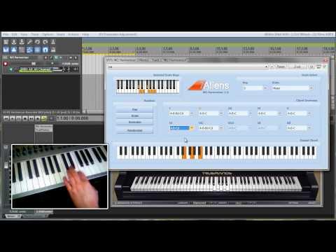 7Aliens W2 Harmonizer VST Plugin - YouTube