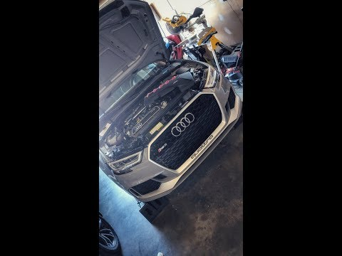 2018 Audi RS3 Detailed DIY Oil Change Guide