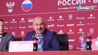 Станислав Черчесов о новом контракте со сборной России