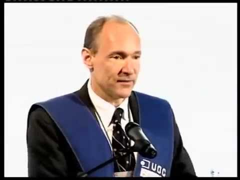 Tim  Berners-Lee, doctor Honoris Causa por la UOC. Discurso