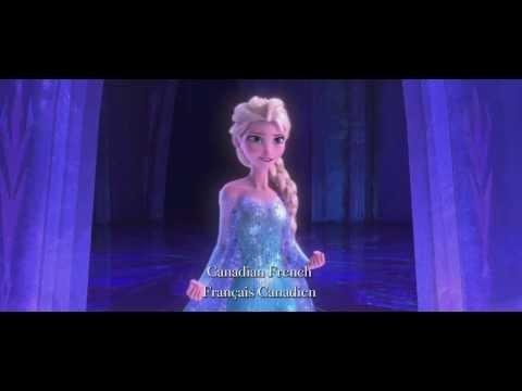 FROZEN - Let It Go Multilanguage Clip | Meerdere talen Disney Official HD 1080p