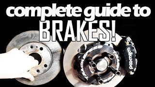 COMPLETE GUIDE TO BRAKES for the Mazda MIATA MX-5