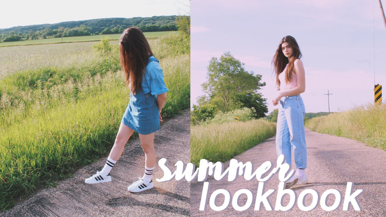 Summer 2016 Tumblr Inspired Lookbook   YouTube