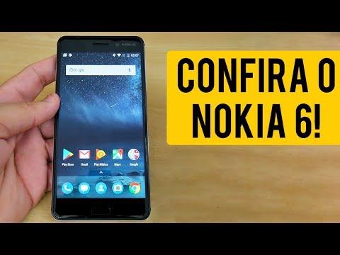 VOCÊ VAI QUERER VER ELE! Nokia 6 - Primeiras Impressões