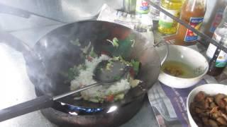 Thai Chicken Fried Rice  {khao Pad Gai}