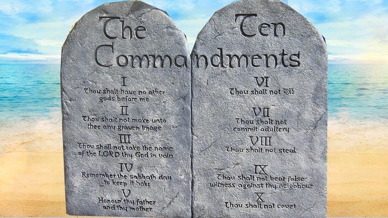 10 commandments bible # 27
