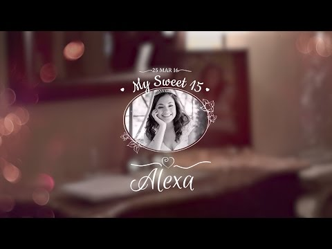 El Paso Quinceañera Alexa Highlight Movie at Bebe's Hall