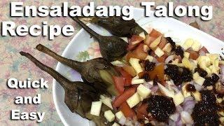 How to Make Ensaladang Talong with Spicy Bagoong
