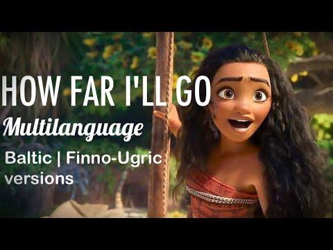 Disney's Vaiana/Moana | How Far I'll Go - Baltic & Finno-Ugric mix