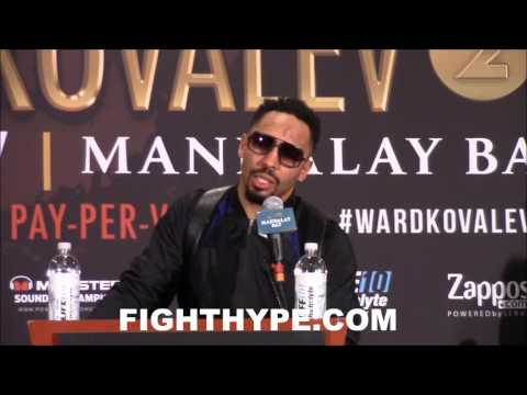 ANDRE WARD WANTS A CONOR MCGREGOR FIGHT; TALKS ABOUT FUTURE PLANS