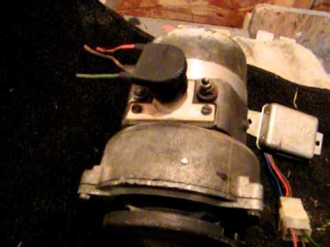 50 Amp Disconnect Wiring Diagram Beetle External Regulator To Internal Regulated Alternator