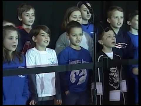 Grinnell School - Canadian National Anthem - March 12, 2016