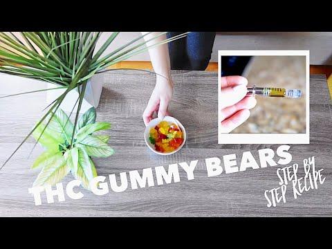 How to make THC gummies with cannabis oil distillate