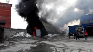 24.03.2016 ПОЖАР В Мытищах НА ул.Силикатной