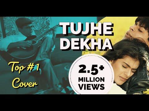 Tujhe Dekha to Ye Jana Sanam Guitar Kapil Srivastava | Cover | Lesson | Tabs | Chords