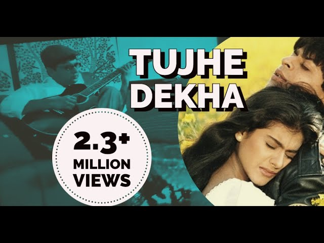 Tujhe Dekha to Ye Jana Sanam Guitar